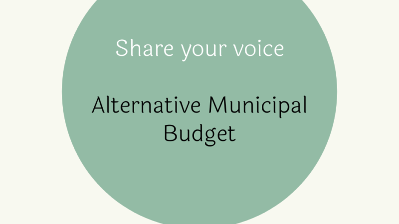 We Want Your Input for the Food Access Section of the 2021 Alternative Municipal Budget!